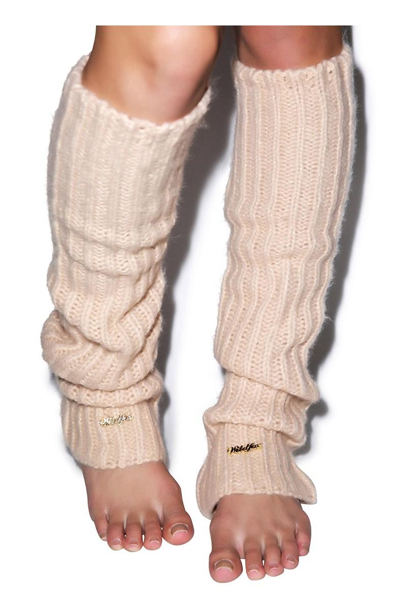 Wildfox - Knit Legwarmers - Lace