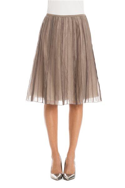 Nic+Zoe - Batiste Flirt Skirt - Mushroom