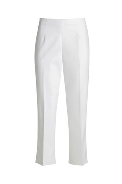 Nic+Zoe - Perfect Pant Side Zip Crop - Paper White