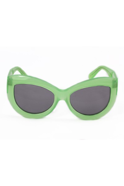 Wildfox Sunglasses - Kitten Frame - Green / Grey